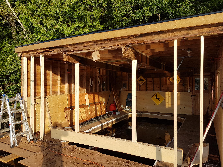 Boat house repair3