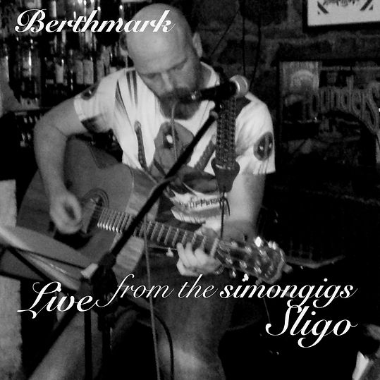 The simon gigs live in sligo Ep cover.jp