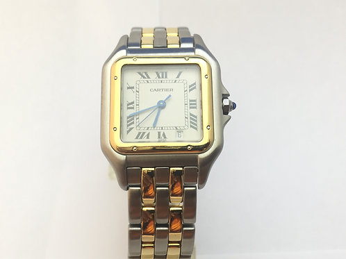 Cartier Panter Steel and Gold[11002] Midsize