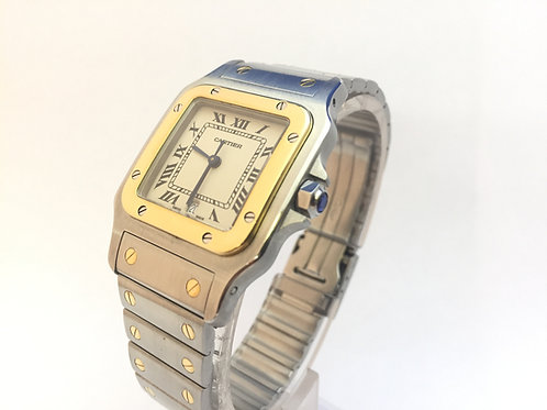 Cartier Santos Steel And Gold[187901]