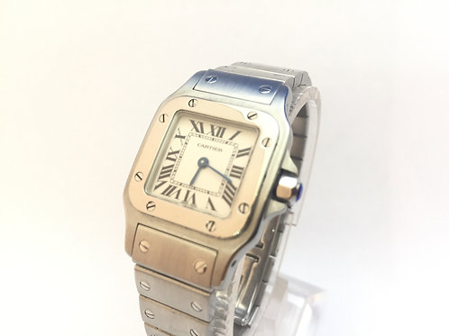 Cartier Santos Steel[1565]Ladies