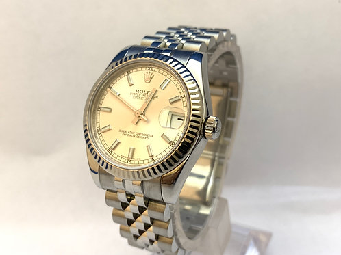 Rolex Date just Steel Mid size[178274]