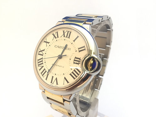 Cartier Ballon Bleu Steel And Gold[3284]