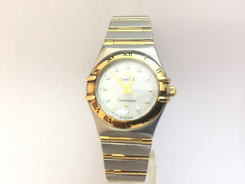 Omega Constellation Steel and Gold Ladies