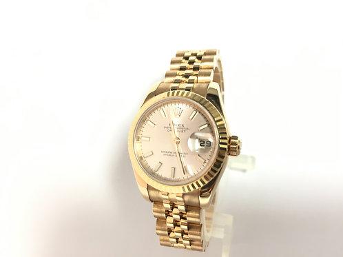 Rolex Date just  Gold [179175]
