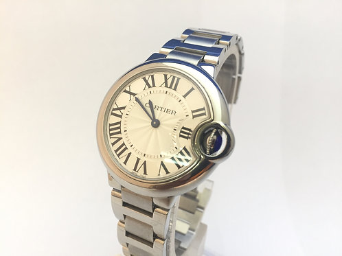 Cartier Ballon Bleu Steel[3653] ladies