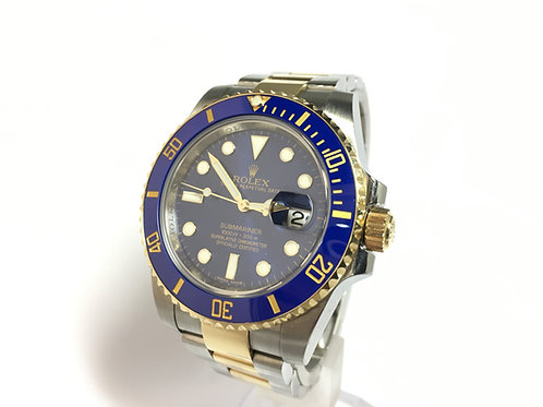 Rolex Submariner Steel and Gold [116613LB]