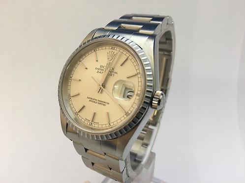 Rolex Date Just Steel[16220]