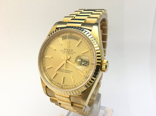 Rolex Day Date 18ct Gold [18038]
