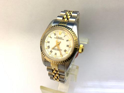 Rolex Steel and Gold Ladies [69193]