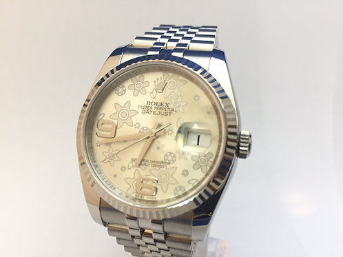Rolex Date Just Steel[116234]