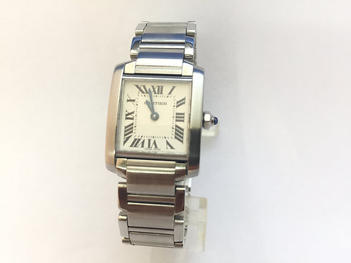 Cartier Tank Francaise Steel[2384] Ladies