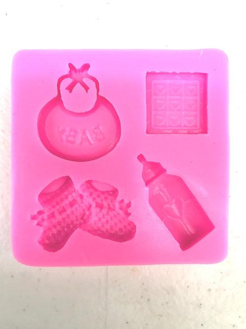 4- Design Baby Silicone Mold
