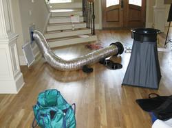 Duct blasting and air balancing
