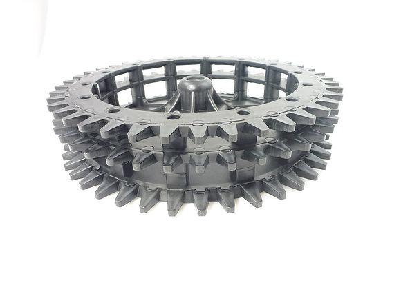 Hjul med 3 rækker tænder