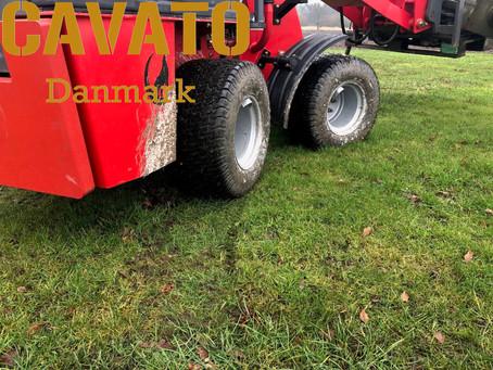 WOLF MINI750 med græsdæk