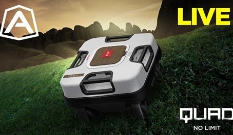 Spændende nyhed fra Ambrogio Robots med deres nye QUAD robotplæneklipper der klare op til 3500kvm.