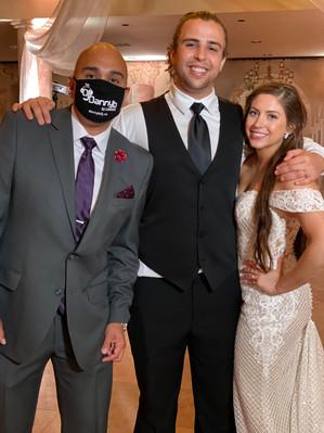 Danny mask wedding bride and groom houst