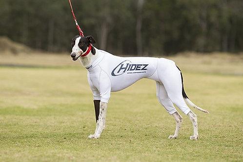 Hidez Greyhound Printed Compression Suit - White
