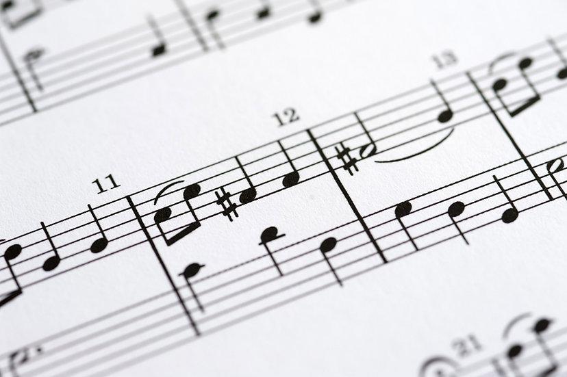 Coração Medieval - Grupo Sampa (Partitura)