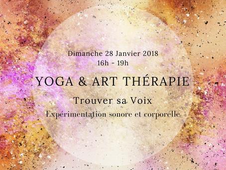 Atelier : Yoga & Art-thérapie le 28 Janvier 2018