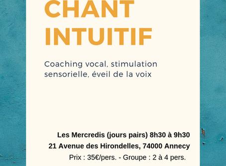 Chant Intuitif : éveil de la voix