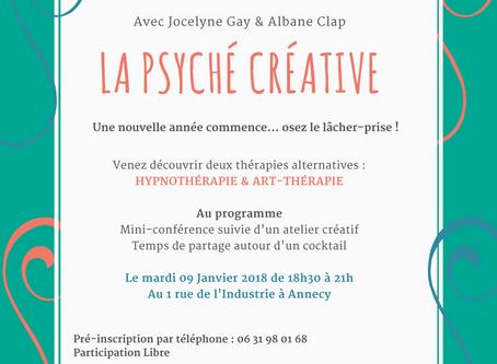Conférence Cocktail : Psyché Créative !