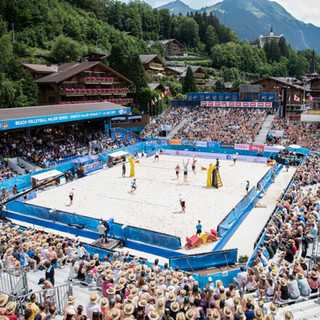 Beachvolleyball Gstaad
