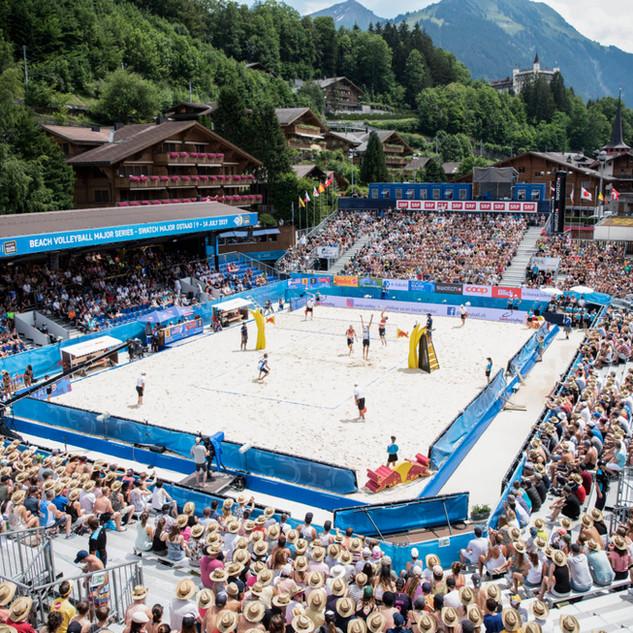 Beachvolleyball Gstaad
