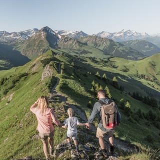 Wandern Gstaad