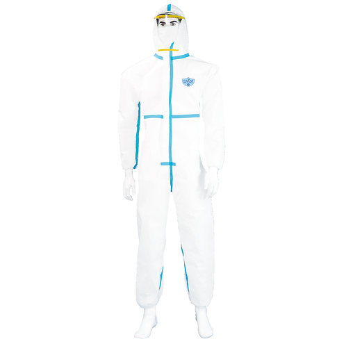 Protective Coverall With Taped Seams (60 Pieces)