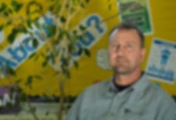 Rob, an outreach worker