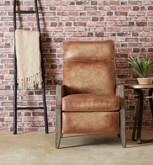 brick w wood and leather reclainer.jpg