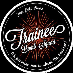 Trainee Bomb Squad Logo