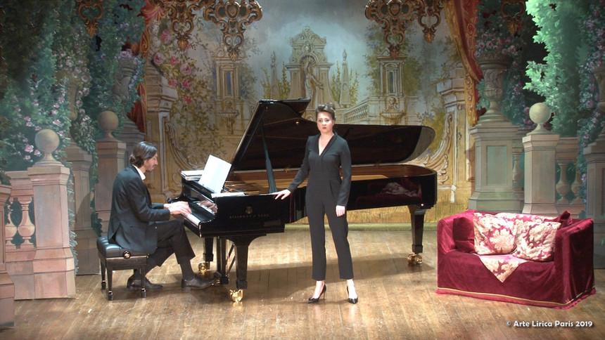 Ania Wozniak, mezzo-soprano, Florent Lattuga, piano
