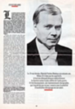 Propos de Dietrich Fischer-Dieskau sur l'art du chant (1985)