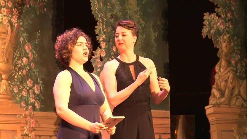 Anaïs Calikman, soprano, Ania Wozniak, mezzo-soprano