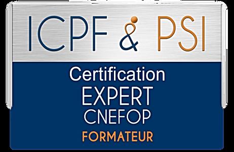 Logo ICPF & PSI Expert CNEFOP Formateur.