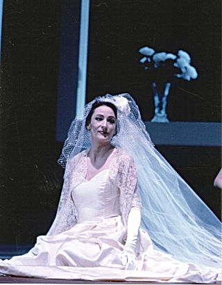 Christine Schweitzer, Agathe du Freischütz - Opéra de Rouen. Dir: Diederich