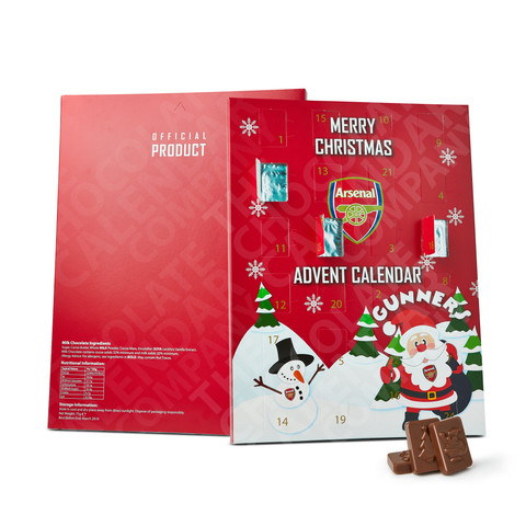 Arsenal Football Club Advent Calendar