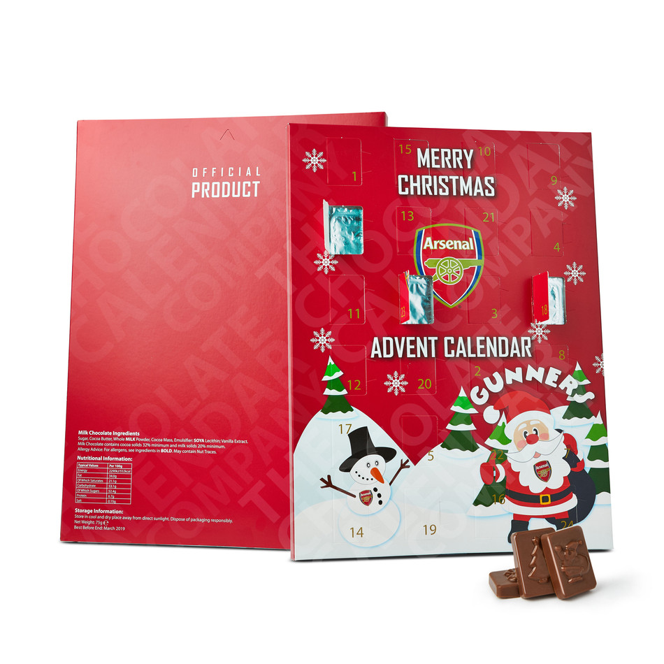 Arsenal Football Club Advent Calendar