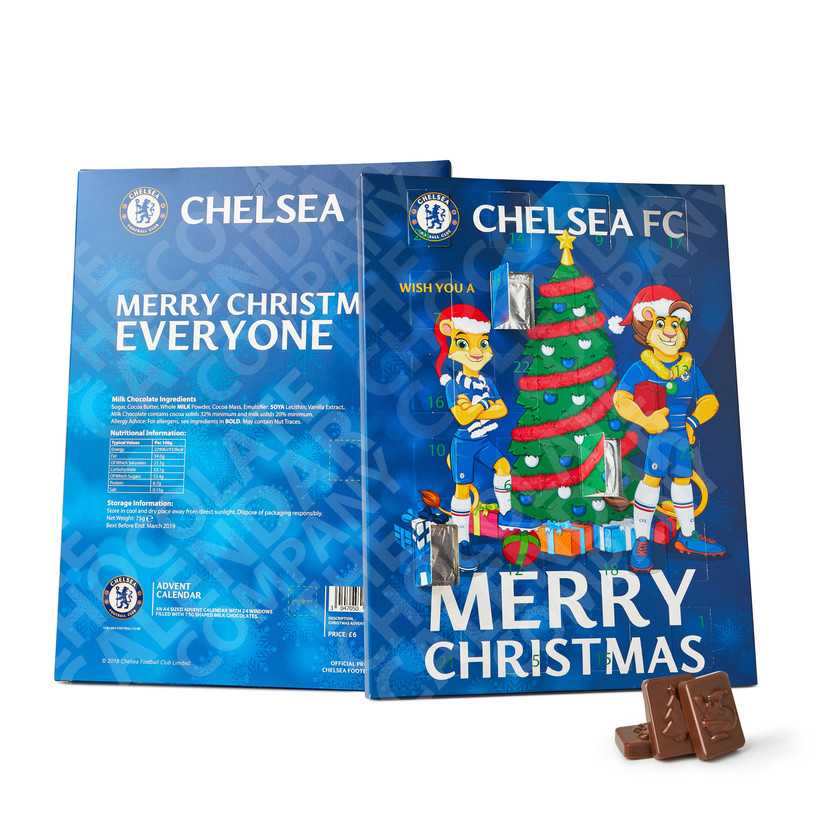 promotional chocolate advent calendars