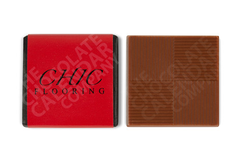 Chic Flooring Chocolate Square
