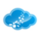 blue cloud symbol ,big data_3612649.png