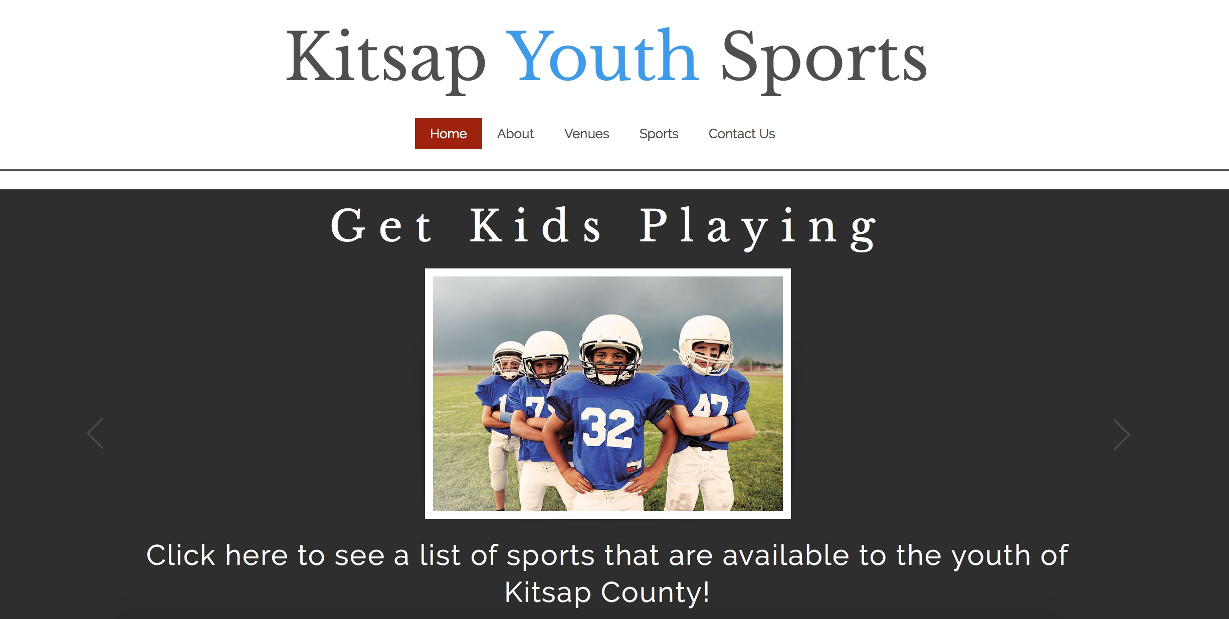 kitsap youth sports