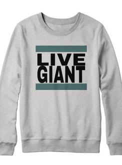 Live Giant Crew - Grey