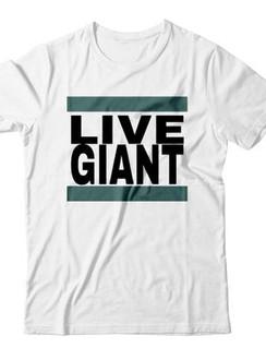 Live Giant Tee - White