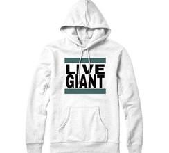 Live Giant Hoodie - White