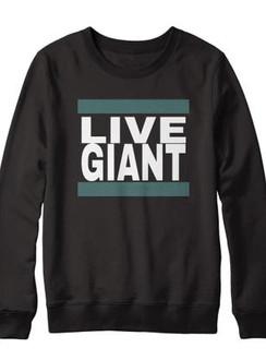 Live Giant Crew - Black