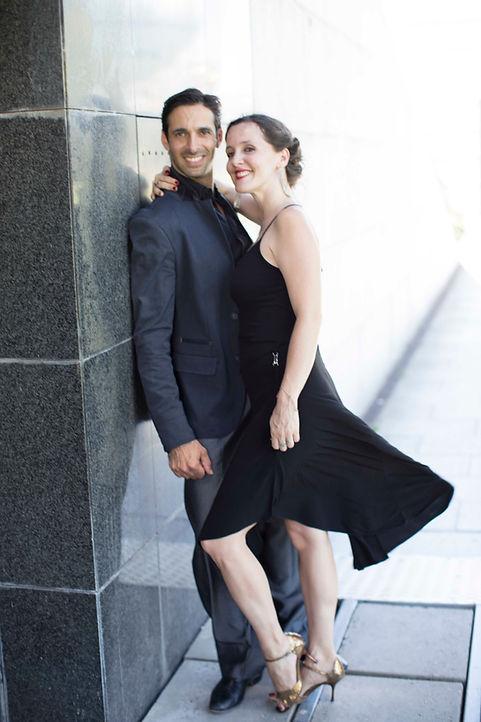 Florencia Garcia et Jérémy Braitbart, Danseurs Chorégraphe et Professeurs de Tango Argentin pour Tango et Vous